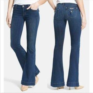 Hudson Ferris Flap Pocket Flare Jeans Wanderlust